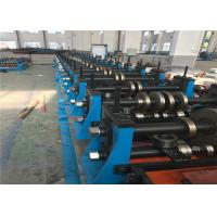 China Heavy Duty Metal Roll Forming Machine Spot Welding 70mm Roller Axis For Shelving wholesale