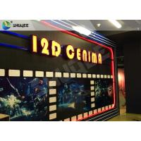 China Entertaining 5D Cinema Seats With Motion Effect / Electric System For Amusement Park wholesale