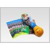 China Custom Printable Drink Bottle Labels Perfect Tightness Food Wrap Film wholesale