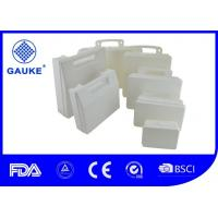China White Preschool First Aid Refills Empty First Aid Box With Handle wholesale