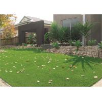 Good Standing Ability Landscaping Artificial Grass 30mm V Shape For Play Areas