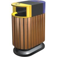 China Large Community Outdoor Site Amenities , Environment Friendly Outdoor Trash Can wholesale