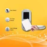 China Electronic Key Card Door Locks , Hotel Key Card Door Entry Systems Rust Proof wholesale