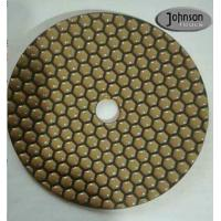Buy cheap 7 Inch Honeycomb Dry Diamond Polishing Pads For Stone Surface Super Soft Type from wholesalers