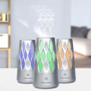 China 1.1 W Air Aroma Machine Bluetooth Control LED Light Plastic Oil Diffuser 100ml wholesale