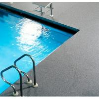China Around Swimming Pool Rubber Flooring Rolls All Weather Available Slip Resistant wholesale