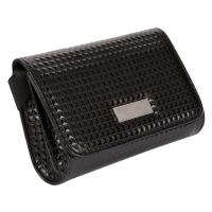 China Shopping Guide Black Waist Bag , Anti Theft Long Waterproof Waist Pack on sale