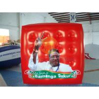China Durable Attractive Red Political Advertising Balloon, Cube Balloons for Trade show wholesale