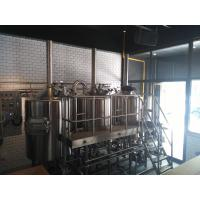 China 10HL Electricity Heated Micro Brewing Equipment Brewhouse For Bar Hotel wholesale