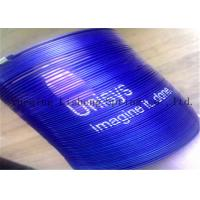 China Blue Color Metal Slinky Spring Toy For Promotional Gift Stress Relieve on sale