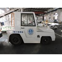 China Heavy Duty White Aircraft Tug Tractor 130 - 165 Millimeter Ground Clearance wholesale