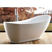 China 5 Foot Ultra Acrylic Free Standing Bathtub Antique Style 1800 X 850 X 790MM wholesale