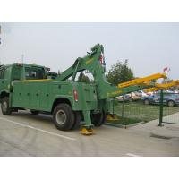 China 8 ton medium duty integrated tow truck road recovery wrecker wholesale