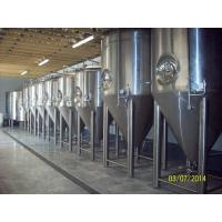 China Stainless Steel Pro Beer Brewing Equipment 10BBL Fermentation Tank Four Legs wholesale