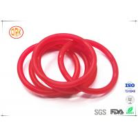 China Red Acid Resistance Ageing Resistance EPDM Customized O Ring Shape For Chemical wholesale