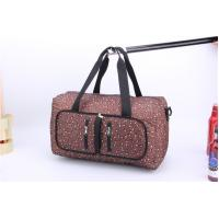 China Competitive Price Large capacity travel bags for women with leopard print wholesale