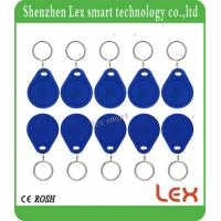 China FM11RF08 Readable And Writeable Key Fob 13.56mhz Key Fob 1K RFID Keyfobs F08 ISO1444A ABS  KeyFob on sale