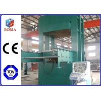 China Frame Type Rubber Vulcanizing Equipment 16MPa Working Oil Pressure wholesale