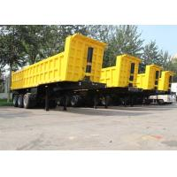 China CIMC hydraulic enclose fifth wheel heavy duty dump trailer cargo dumping trailer for sale on sale