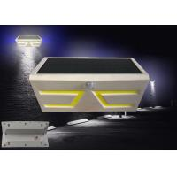 China COB LED Solar Motion Light , Adjustable Solar Garden Wall Lights ABS Material wholesale