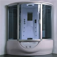China Luxury Steam Shower Bathtub Combo With Spa Tub , Home Steam Shower Units wholesale