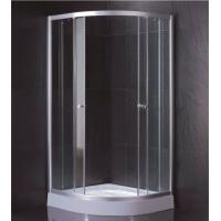 China Clear Tempered Glass Shower Cabin With 2 Fixed Panel And 2 Sliding Doors wholesale