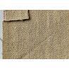 China Classic Brown Herringbone Denim Fabric , Twill Jeans Cotton Spandex Denim Fabric wholesale
