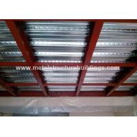 China Wind Resistant Office Mezzanine Structures Fast Building Construction wholesale