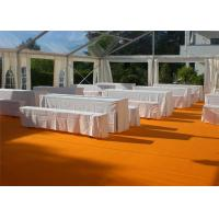 China Restaurant Tent With Large Canopies, Clear Outdoor Event Tents With Transparent PVC Roof wholesale