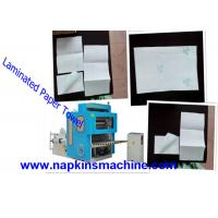 China Jumbo Roll V Fold Toilet Paper Making Machine / Tissue Paper Converting Machine on sale