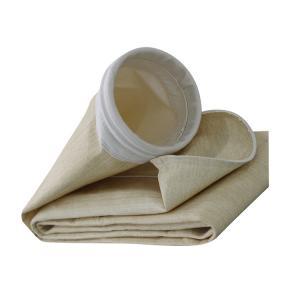 China Aramid Singeing High Temperature Filter Bags Anti Alkali wholesale