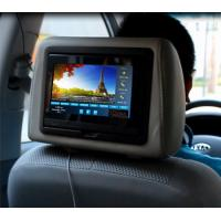 China 7 Inch Backrest Embedded Players For Taxi Display System wholesale