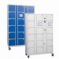 China CT18 Electronic Barcode Locker with Thermal Print Barcode Slip and Digital LED Display wholesale