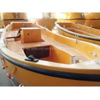 China MED Approval F. R. P Single Arm Open Rescue Boat wholesale