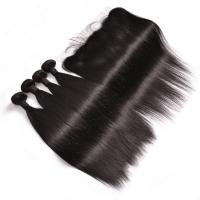 Buy cheap 100% Brazilian Virgin Human Hair Extensions , Straight Remy Human Hair Weave from wholesalers