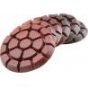 "China 3"" Diamond Metal chip Floor Polishing Pads Set of 6 PCS for Granite/Concrete/Terrazzo Floor wholesale"