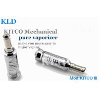 China Mechanical Mod KITCO 3 Electronic Cigarette Dry Herb Cartomizer With Stainless Steel wholesale
