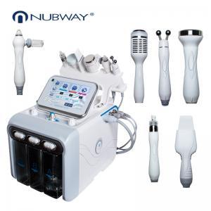 China Multi Polar Rf Skin Rejuvenation Hydrafacial Microdermabrasion Machine wholesale