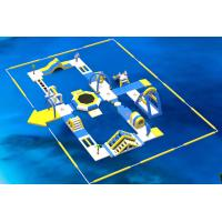 Buy cheap Inflatable Floating Water Park /  Kids Water Park Projects With 0.9mm PVC Tarpaulin from wholesalers