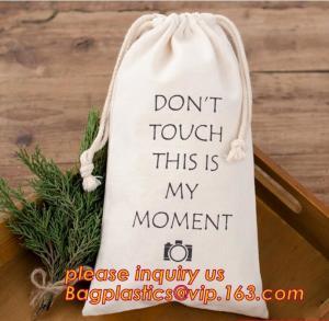 China Fashional cotton drawstring bag cotton laundry bag,Lower MOQ custom printed shopping bag cheap drawstring bag cotton pac on sale