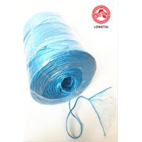 China Fibrillated Split Film PP Twine In Ball Roll And Spool / Polypropylene Rope wholesale