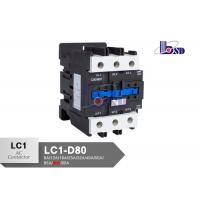 China Plastic Magnetic Ac Contactor With Coil Voltage 220 Volt  80A OEM Service on sale