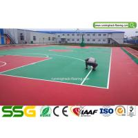 Buy cheap Outdoor or Indoor Basketball Silicon PU Court Sports Flooring Stable Surfacing Materials from wholesalers