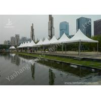China No Fabric Wall French Style High Peak Frame Tent Expansion Bolts Fixing wholesale
