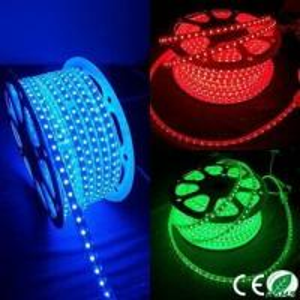 China Flexible 110V 220v Waterproof AC Powered Led Light Strips , Rgb LED Tape Light  on sale