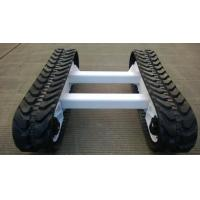 China Rubber track chassis,vehicle rubber track kit,rubber track system, Undercarriage wholesale
