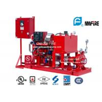 China High Precision Diesel Engine Driven Fire Fighting Pump Centrifugal 175PSI / 404 Feet wholesale