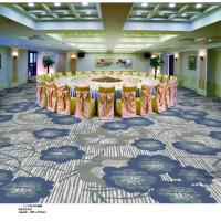 China Indian Style PVC Carpet Flooring / Plastic Floor Covering Carpet Cut Pile wholesale