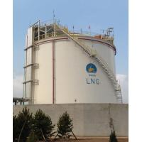 China Cryogenic LNG Storage Tanks Single Containment Natural Gas Liquefaction Plant wholesale
