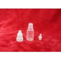 China 10ml PP plastic bottle full set for eye dropper packaging in natural color on sale